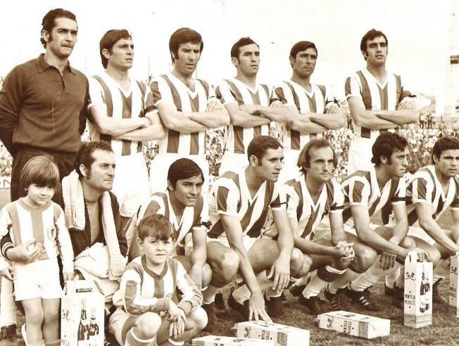 Fermín, Del Bosque y Sanchís, los tres madridistas cedidos en el Córdoba CF que le ganaron al Barça en 1971.Fermín, Del Bosque y Sanchís, los tres madridistas cedidos en el Córdoba CF que le ganaron al Barça en 1971.