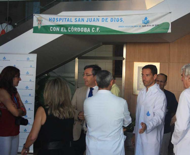 El doctor Javier Bejarano continúa en el club y hoy ofició parte de los reconocimientos médicos