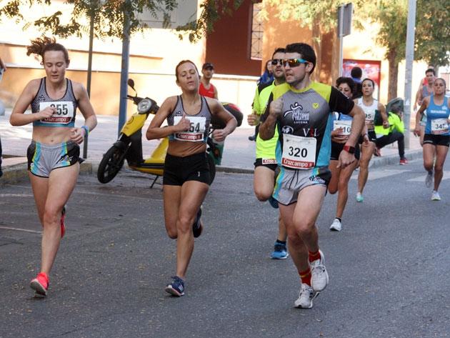 Miguel Espinosa y Maribel Díaz vencieron en Villafranca