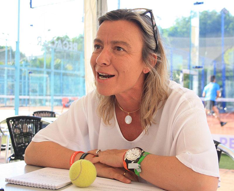Isabel Albás sonríe al futuro del deporte en Córdoba