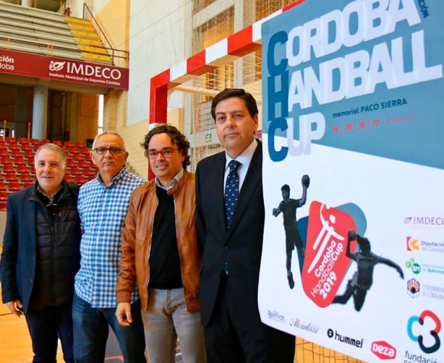 La puesta de largo de la Córdoba Handball Cup