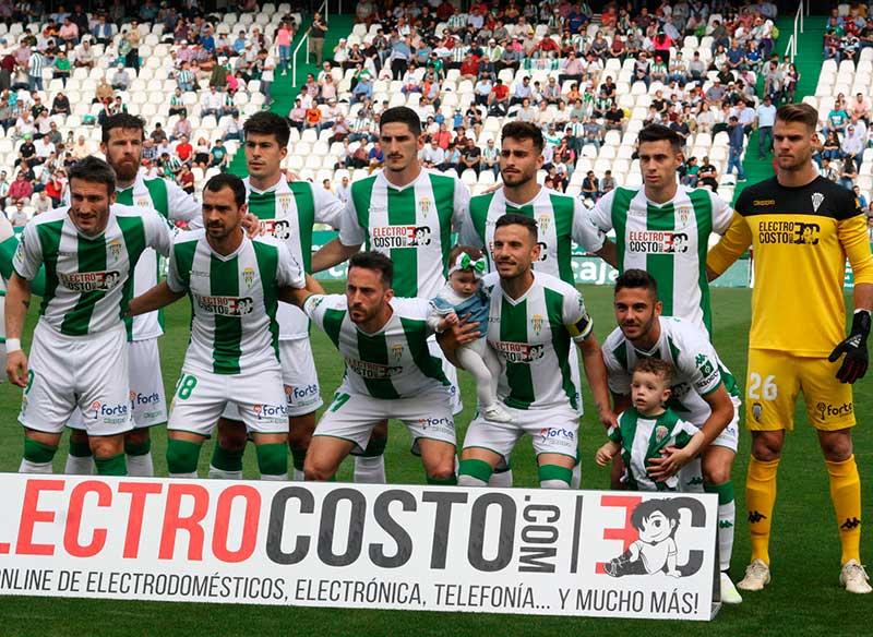 El once blanquiverde que sucumbió ante el Lugo y condenó al descenso al Córdoba CF
