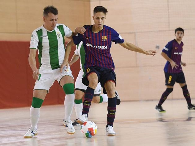 Frenazo en la cancha del filial del Barça (7-4)