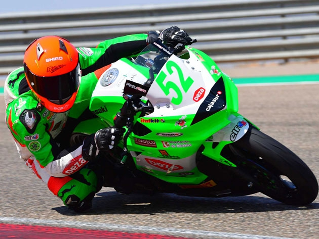 Guillem Erill se mantiene en las Balas Verdes para Supersport 300
