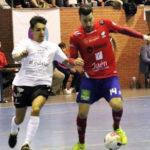 Dani Aranda en un partido con el Mengíbar
