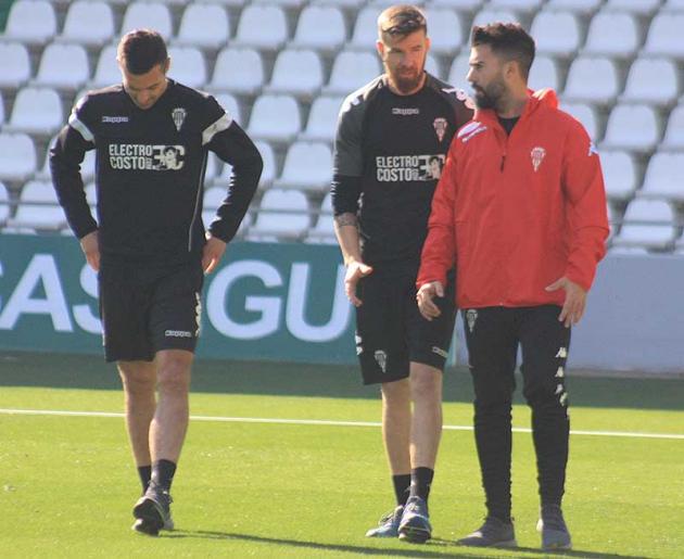 Flaño y Chus Herrero no estarán ante el Málaga