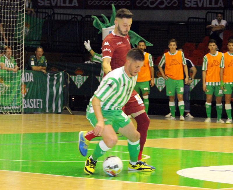 A por todas. El Córdoba CF Futsal se la juega sin miedo en Sevilla