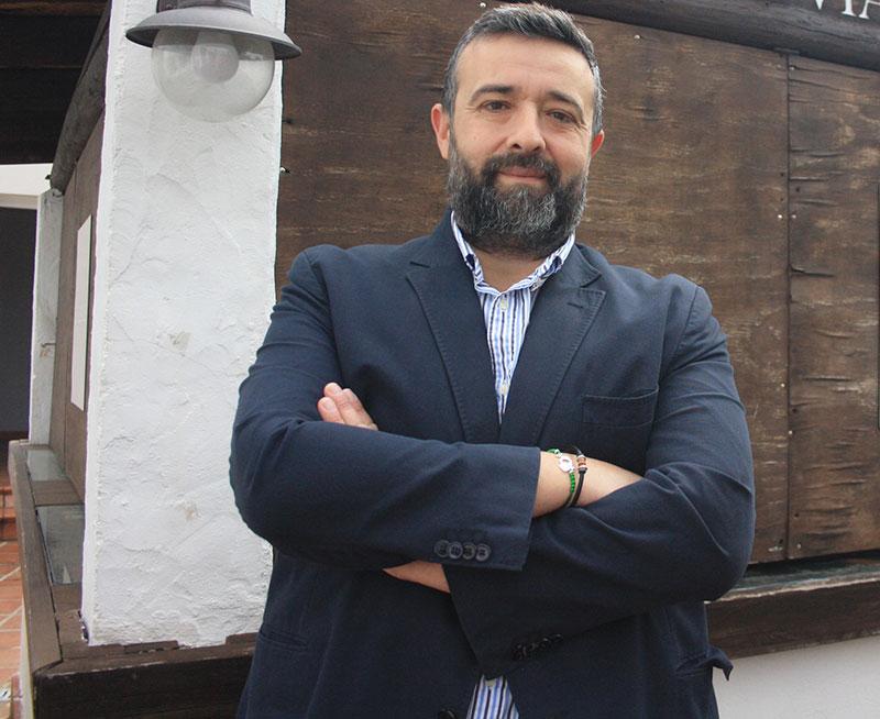 Rafael Saco durante la entrevista realizada por Cordobadeporte.com hace unas semanas