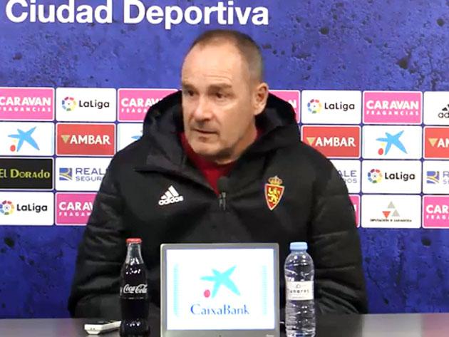 Víctor Fernández en una rueda de prensa