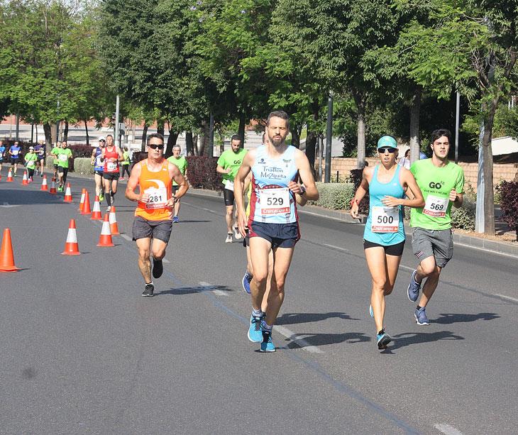 Varios corredores en una de las pruebas del Circuito en 2019. Autor: Paco Jiménez