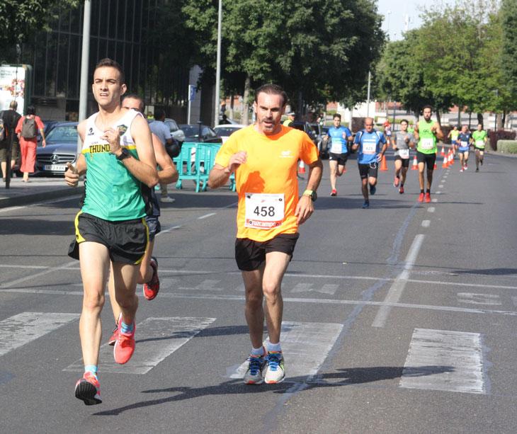 Varios atletas en una prueba del Circuito Provincial 2019. Autor: Paco Jiménez