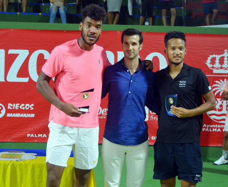 Los ganadores de dobles en Palma del Río