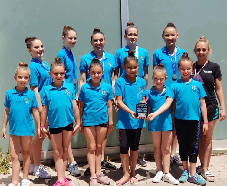 Las gimnastas del Liceo presentes en Almería