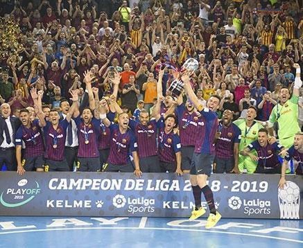 El Barça Lassa, campeón de liga