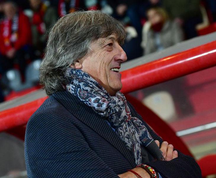 Enrique Martín, técnico blanquiverde esta temporada