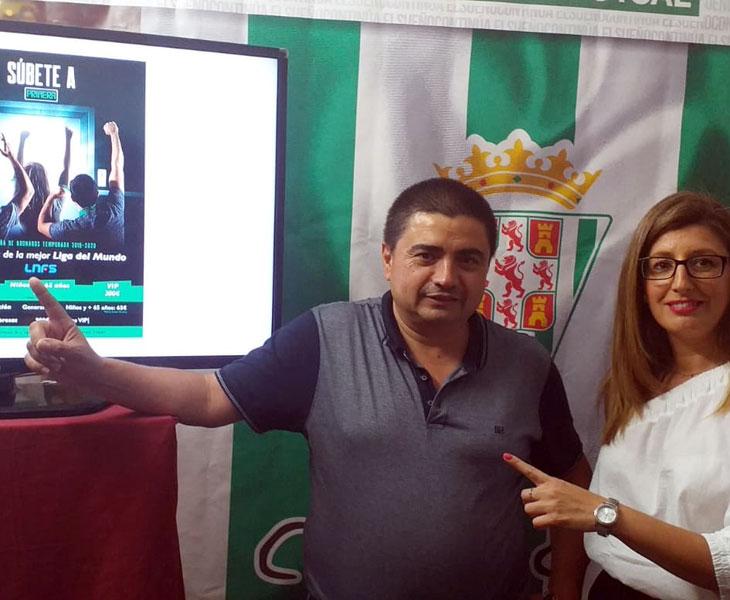 La presentación de la campaña de abonados del Córdoba CF Futsal