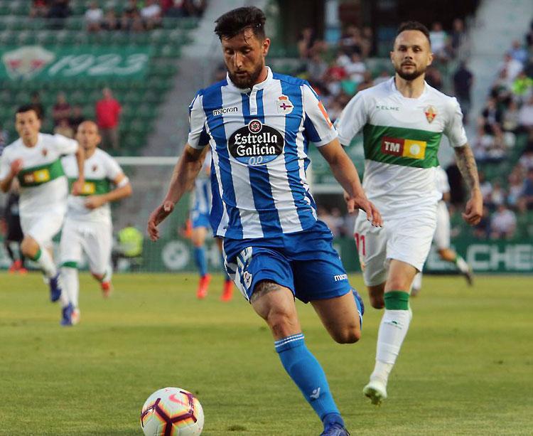 El Deportivo defenderá la plaza de play-off conquistada en Elche