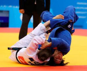 El combate de cuartos ante la balcánica Milica Nikolic que obligó a Jula Figueroa ir a la repesca