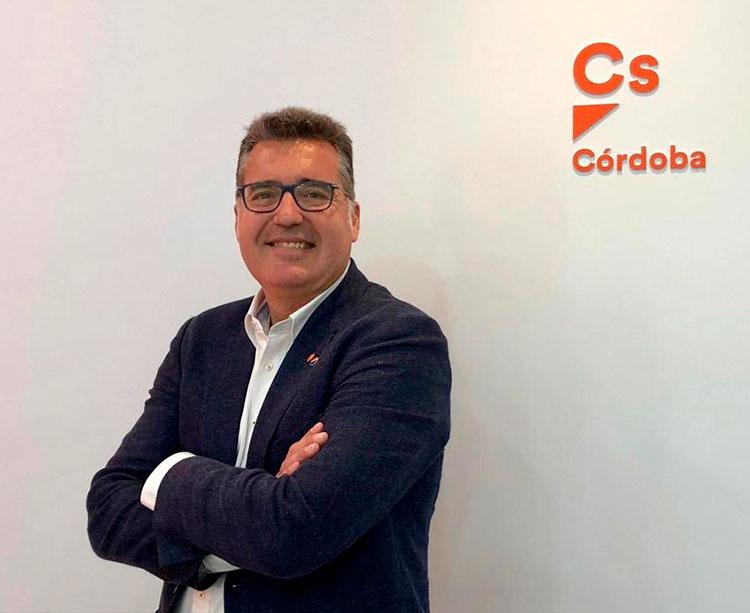 El nuevo presidente del IMDECO, Manuel Torredonjimeno, de Ciudadanos