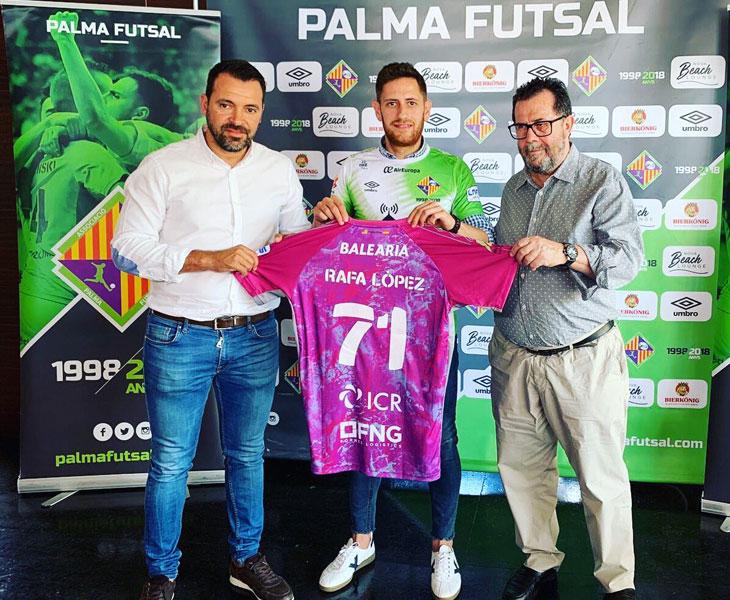 Rafa López pasa desde Jaén a Palma de Mallorca