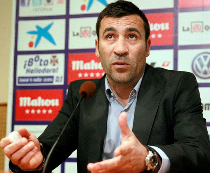 Raúl Agné en una comparecencia de prensa