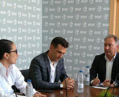 Un momento de la reunión del Comité Andaluz de Árbitros