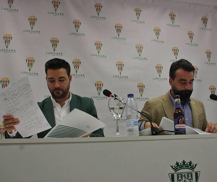 Fran Ruano y Alberto Mayoral.