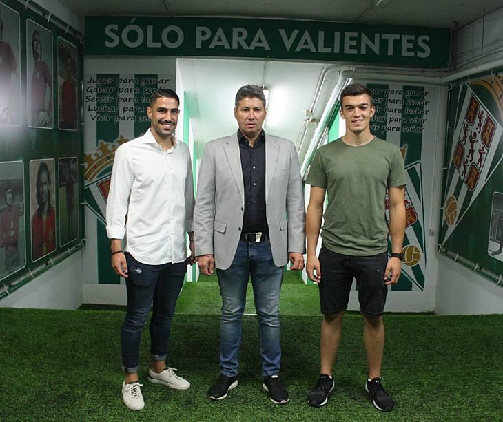Victor Ruiz, Alfonso Serrano y Edu Frías