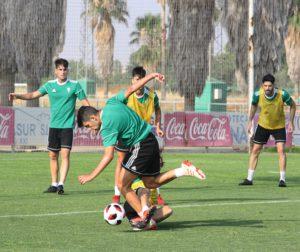 Entrenamiento del Córdoba CF