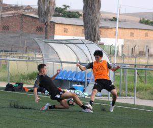Entrenamiento del Córdoba B