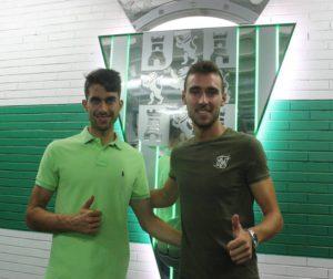 Imanol García y Ángel Moreno