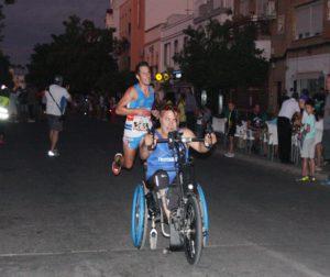 Una imagen de la Nocturna Running Alcolea de 2019. Autor: Paco Jiménez