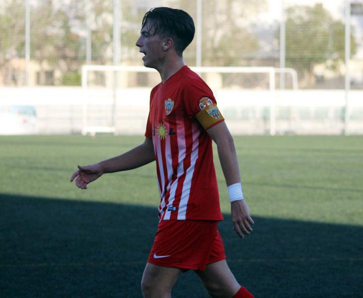 Ramón García, joven jugador almeriense que llega al Ciudad de Lucena