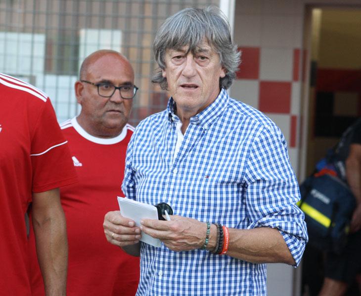 Enrique Martín, entrenador del Córdoba