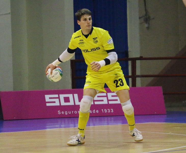 Gonzalo, nuevo meta del Córdoba CF Futsal