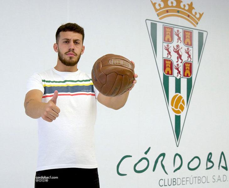 Javi de la Fuente, nuevo cancerbero para el Córdoba B