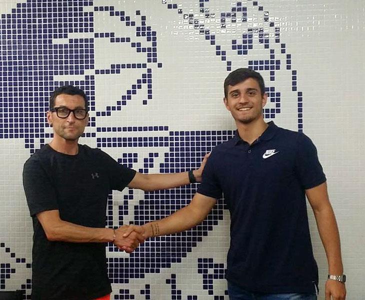 Lucas Muñoz, feliz de iniciar una nueva aventura en Marbella
