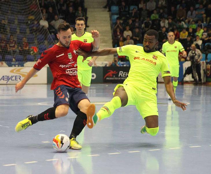 El CA Osasuma Magna será el primer rival del Córdoba CF Futsal en Primera