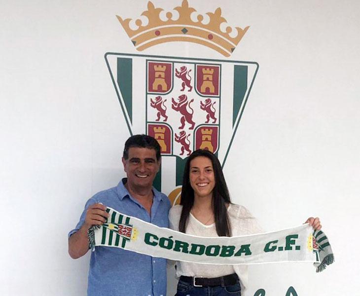 Ana Lesmes, la nueva integrante del Córdoba