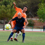 Una imagen del duelo ante el Recreativo Granada de esta pretemporada. Foto: Córdoba CF