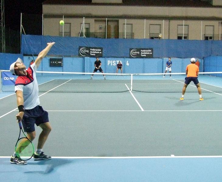 Una imagen de las semifinales de dobles en el Memorial Fabián Dorado