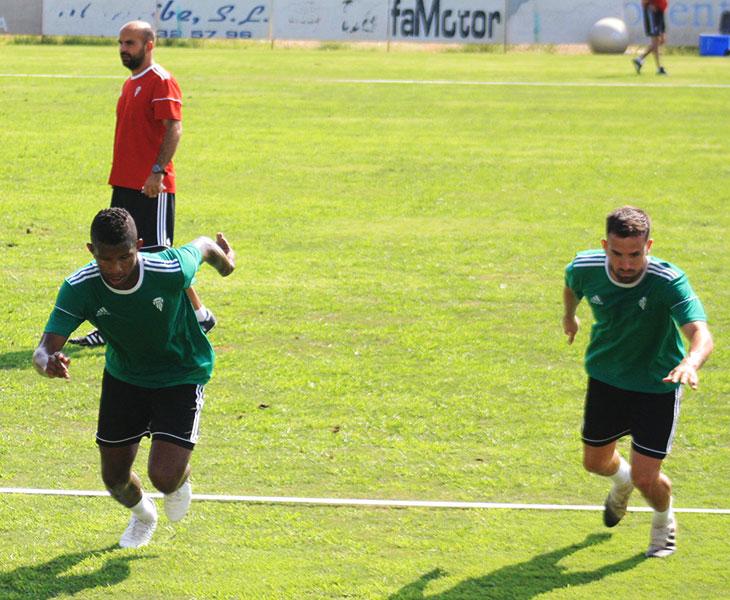 Fidel Escobar y Sebas Moyano arrancan en una serie de sprint en la Ciudad Deportiva