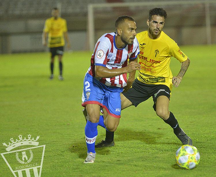 Una imagen del debut del Villarrubia en el Nuevo Mirador. Foto: Algeciras CF
