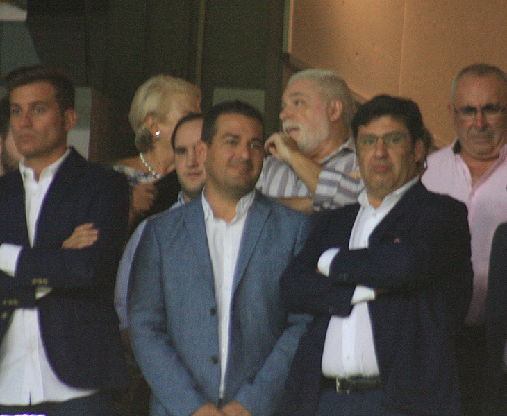 Jesús León el pasado sábado en el partido frente al Rayo