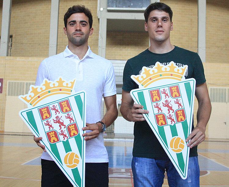 Pablo del Moral y Gonzalo Puebla, otras dos caras nuevas del Córdoba CF Futsal