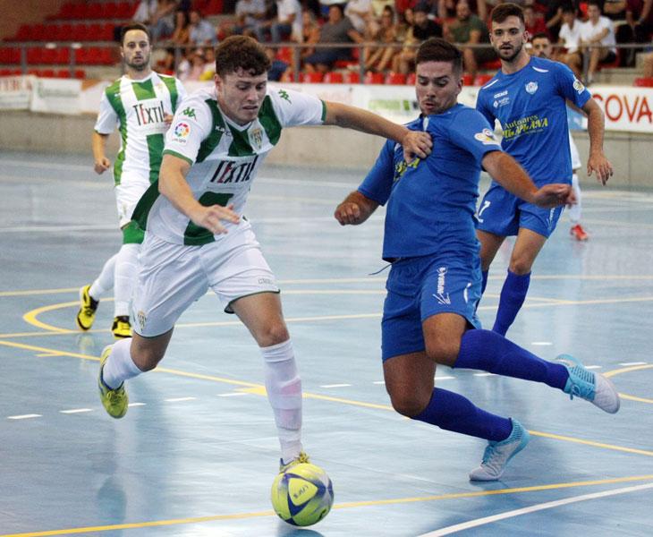 El Córdoba Patrimonio de la Humanidad pasó como un ciclón por Pozoblanco, sobre todo en la segunda parte. Foto: Córdoba Futsal