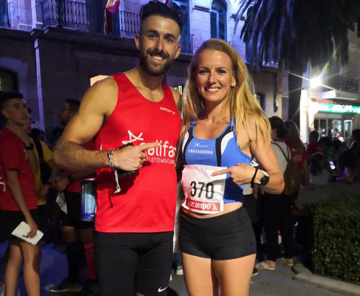 Francisco Vallejo y Raquel Hernández, vencedores en Belalcázar