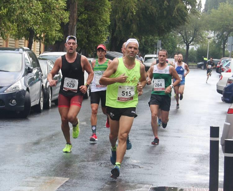 Varios atletas en una prueba del Circuito Provincial. Autor: Paco Jiménez