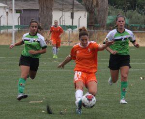 El Córdoba Femenino en un partido de esta campaña. Autor: Paco Jiménez