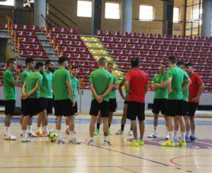 Entrenamiento Cordoba Futsal